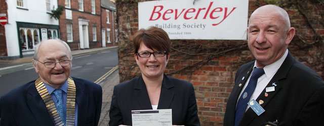 Lions Win Beverley Building Society Charity Of The Month Competitions