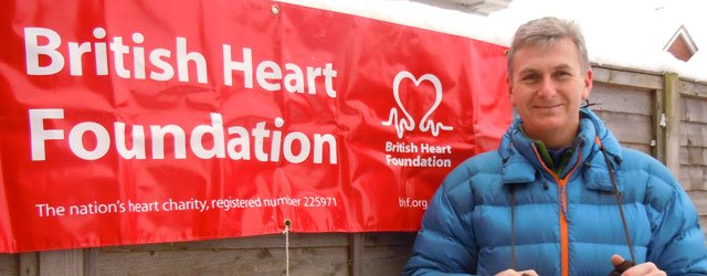 Fundraiser Urges Beverley Residents To Put Their Best Foot Forward To Beat Heart Disease