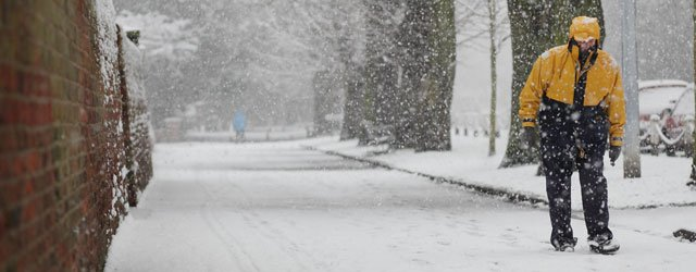 Snowing: Pictures Of Snowy Scenes In Beverley