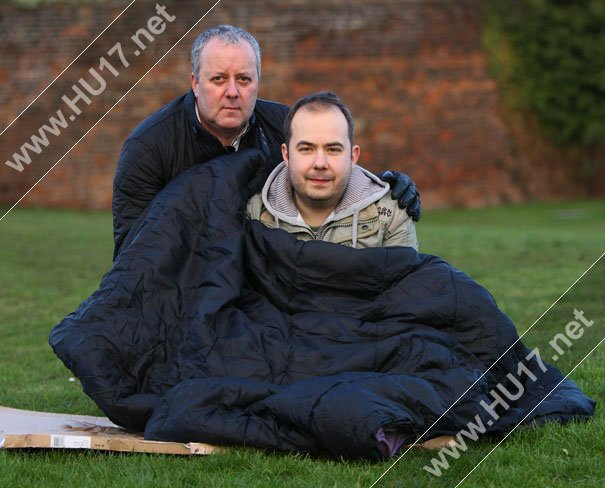 Spend A Night Sleeping Rough & Help Young Homeless People