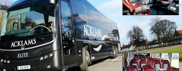 A First For The UK : Coaches And Minibuses To Be Star Rated For Safety!