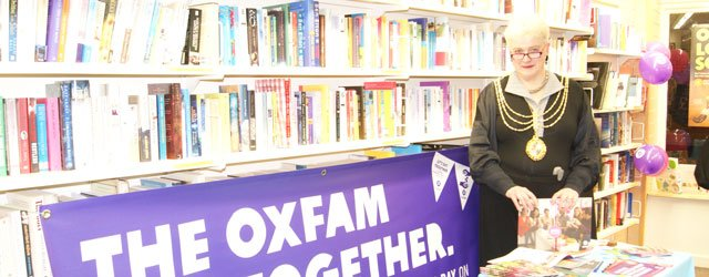 Beverley Launches Oxfam Get Together