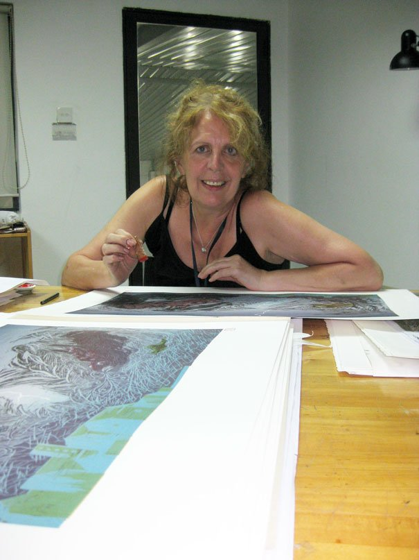 Free Event With Printmaker Frances Kelly