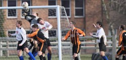 Hodgsons FC remain at the foot of the Humber Premier League after they were beaten 2 - 1 by Scultcoates Armatures at Bishop Burton College. Victory, thanks to goals from Michael Leng and Danny Moon for Sculcoates see them move above Beverley Town