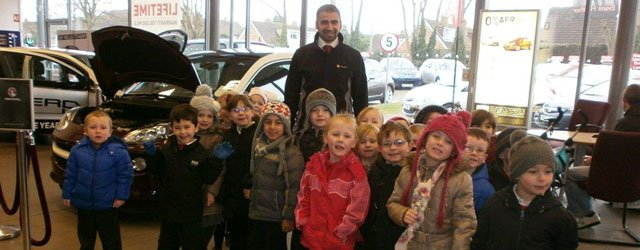 Beverley Vauxhall Dealer Helps Education Children At Local School