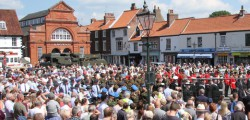 Beverley Armed Forces Day is seeking sponsorship for its next event which will take place on Sunday 7th July 2013.