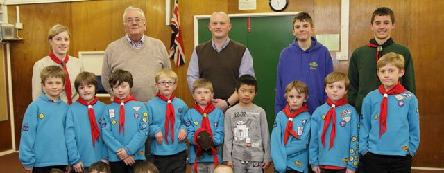 Beavers Receive Donation For Their Efforts In The Local Community