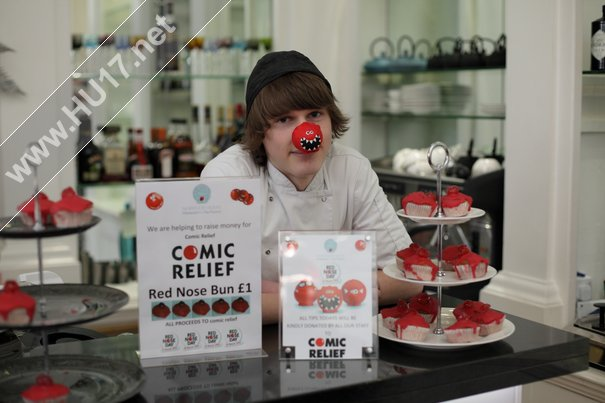 Staff At Norwood House Do Their Bit For Comic Relief