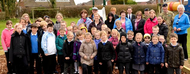 Armed Forces Community Covenant Secures Play Park Funding