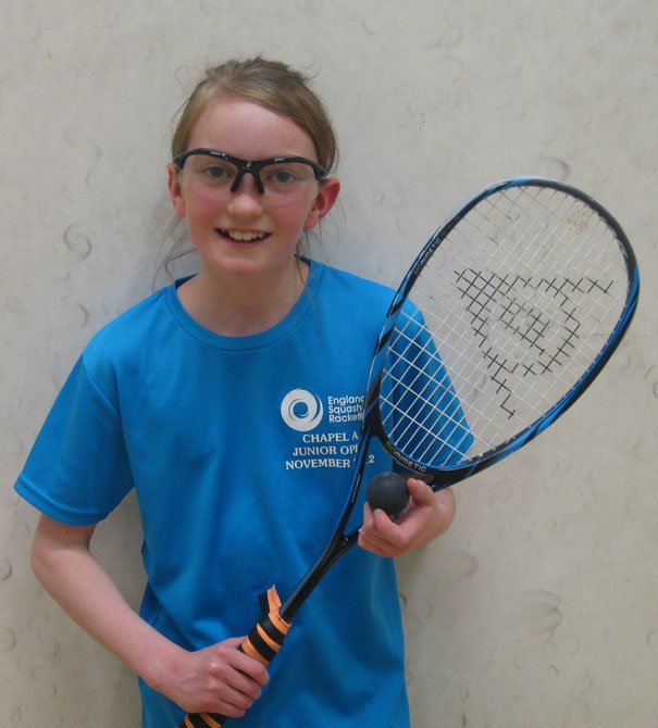 Lydia Robinson Ranked Number One Girl At Squash