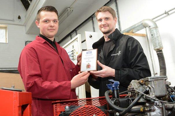 Apprentice Wins Regional Award