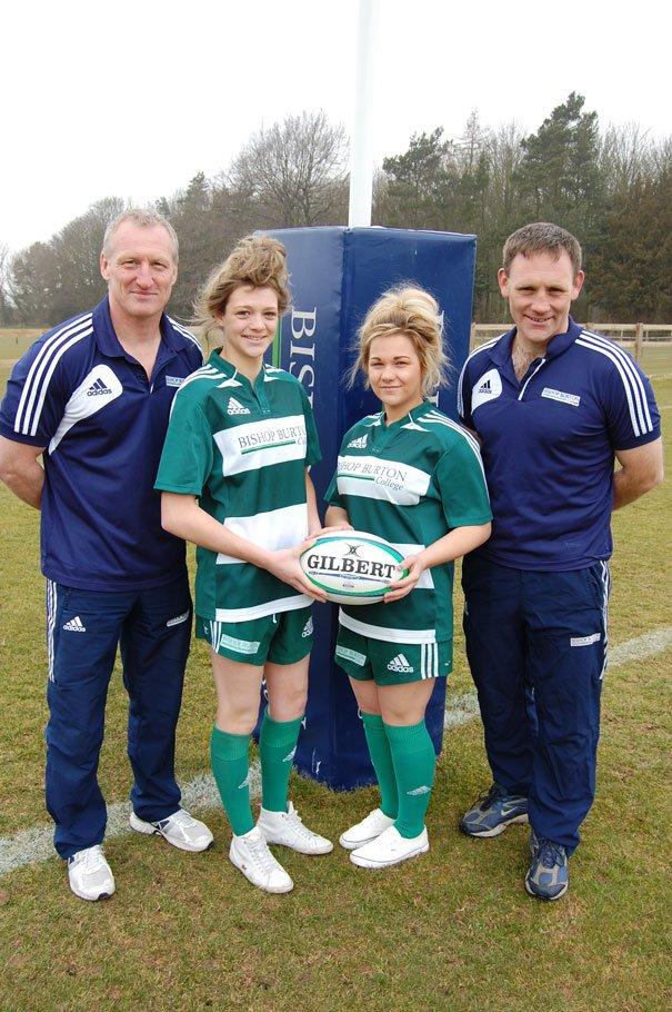 Bishop Burton College Tackles Women's Rugby