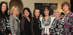 Beverley Ladies Circle met at Cerutti2 for their annual &#039;Handover&#039;. The theme of the evening was &#039;Childhood friendships&#039;, which was apt as outgoing Chair Kerri Harold handed over to Lyn McCoid.