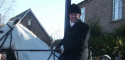 Humberside residents staging a protest this weekend over axing the police mounted section have been warned against it - by the police.