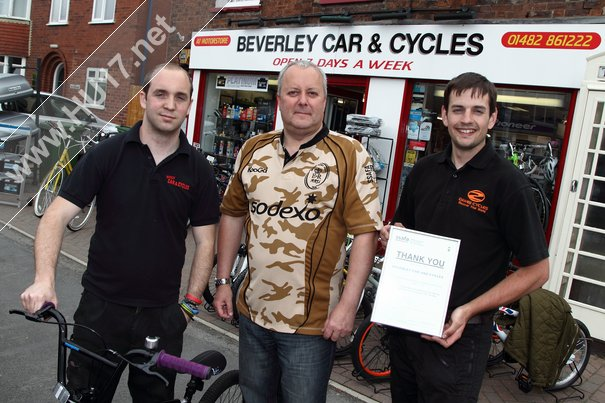 Beverley Cycles Continue Their Ongoing Support Of Armed Forces Day