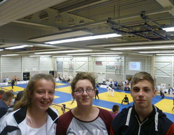 Trio Gain Good Experience At International Judo Championships