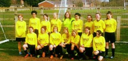 Mill Lane United Yellows fell at the last hurdle in the National Girls Football Tournament At Skelmersdale.