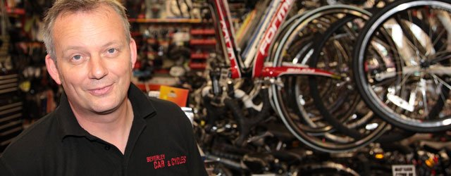 Local Businessman Lends His Support To Cycling Races
