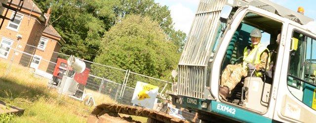 Demolition At Defence School Of Transport
