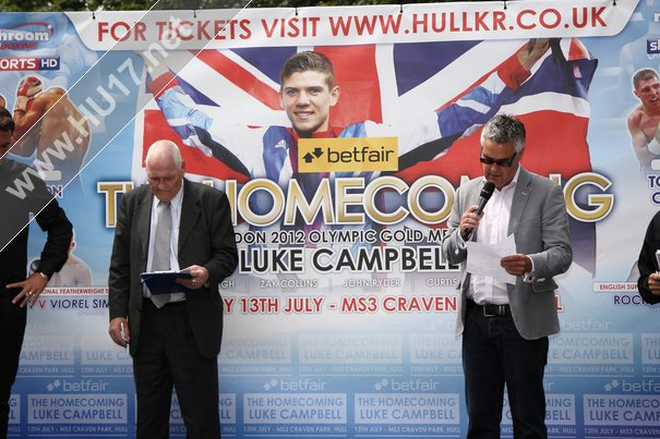 Luke Campbell Weighs In Ahead Of Professional Début This Saturday