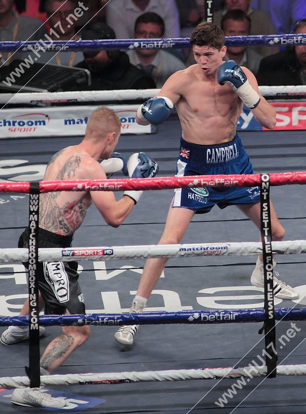 Campbell Makes Perfect Start To Pro Career With Victory Over Harris