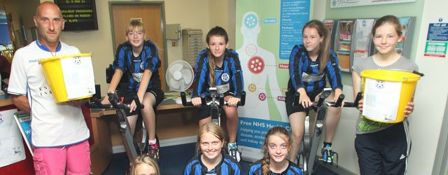 Beverley Whitestar Hawks Peddle 444km To Help Raise Money For New Kit