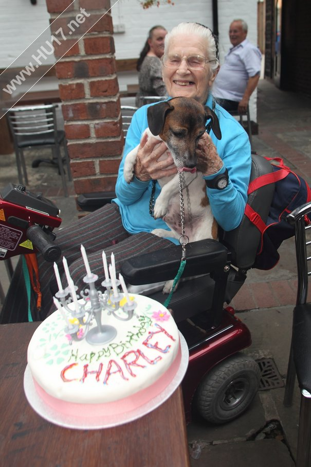 Charlie Made Welcome At Beverley Boozer On His Birthday