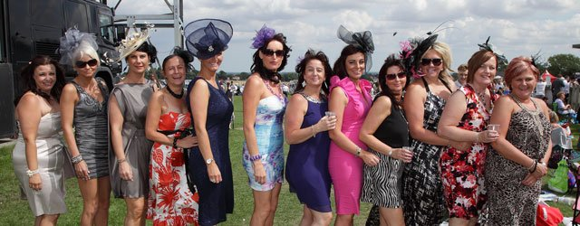 Ladies Day At Beverley Racecourse 2013 Bumper Gallery