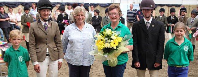 Pam Ireland's Birthday Acknowledged By Pony Club