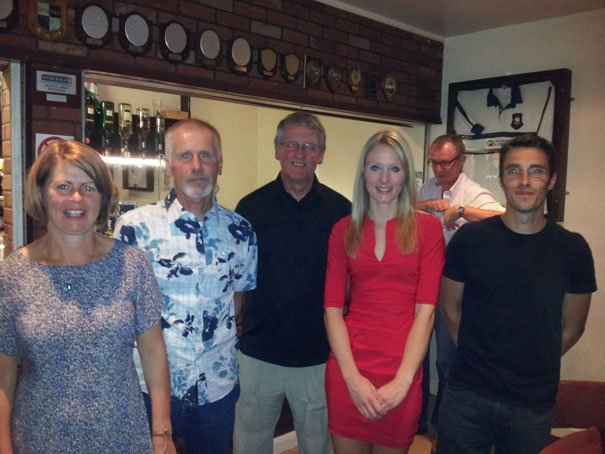 Beverley AC Members In The Prizes In This Year's Champagne League Awards