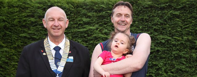 Beverley Lions Help Local Family