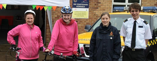 Charity Bike Ride Help Raise Over £200