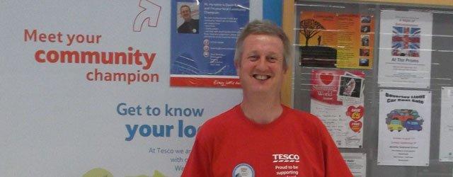 Meet Tesco's Community Champion: Saturday 28th September