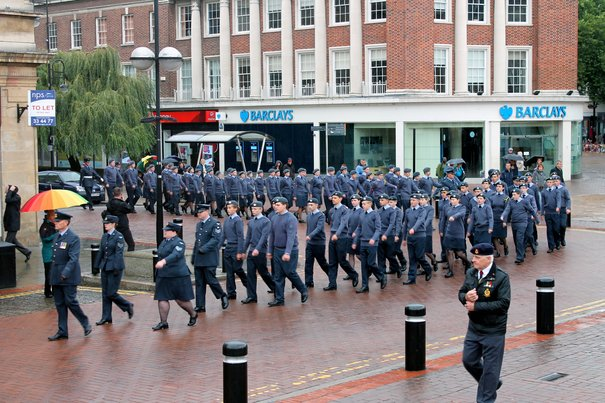 Air Cadets Proudly Support The Royal Air Forces Association Parade to Commemorate the Battle of Britain