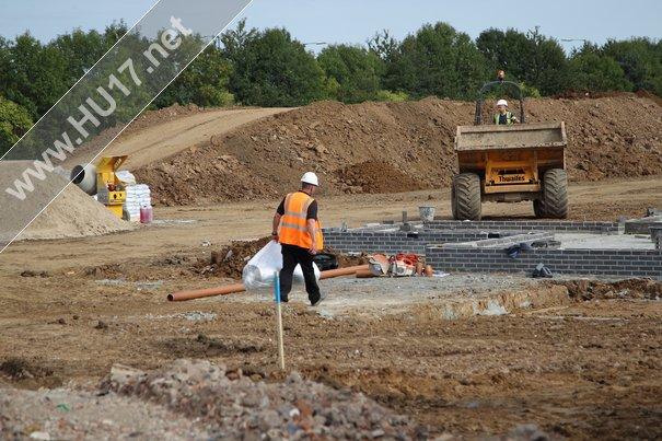 Woodhall Grange : New Development Is Well Under Way