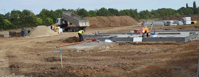 Woodhall Grange : New Development Is Well Under Way