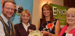 Beverley Food Festival won the East Yorkshire Local Food Network Awards (EYLFN) for 'Best Food and Drink Event 2013'. The awards ceremony took place on Monday 21 October at Beverley Tickton Grange.