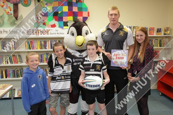 Try Reading With Hull FC's Chris Green @ Beverley Library