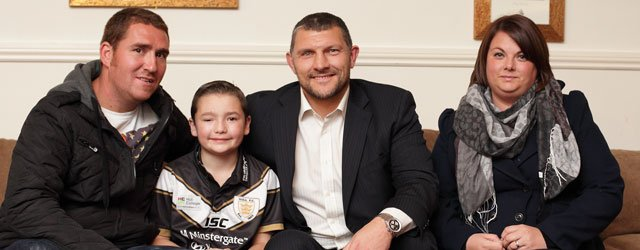 Legend McDermott Is A Massive Hit With Local Rugby Players & Fans