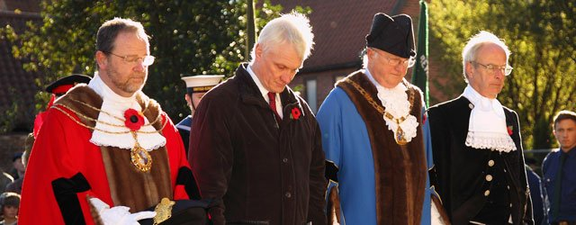 Remembrance Sunday In Beverley