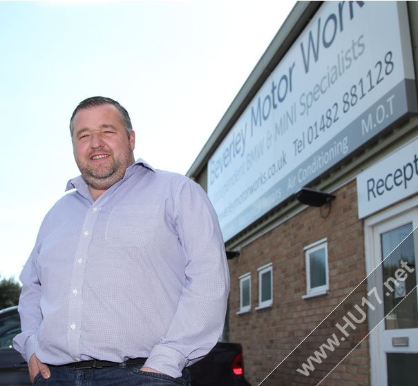 Motor Trade Partnership Is A 'Great' Opportunity Say Beverley Motor Works
