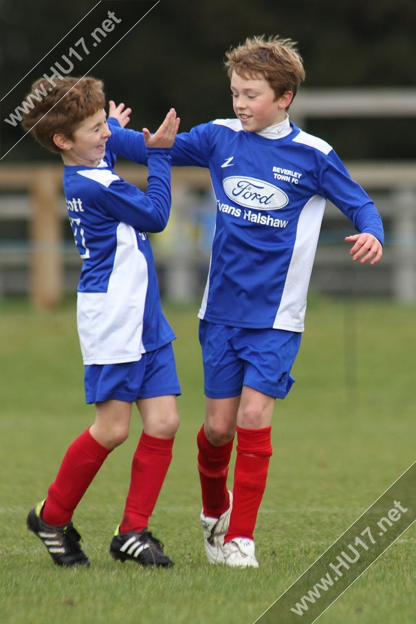 Beverley Town Dynamos Win Title In Style