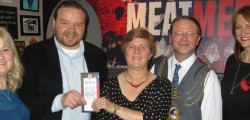 Local resident, Mrs Jacky Kennington, has won the prize which is to 'Eat Like an Army' for up to eight people, worth £120, courtesy of Rebels' Smokehouse in Beverley.