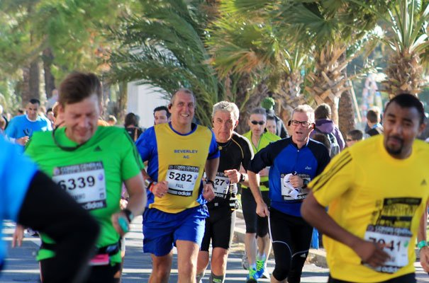 Evans Bags 5th Marathon In Nice Storms