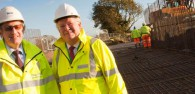 Council Leader Inspects Progress Of Beverley Integrated Transport Plan Works