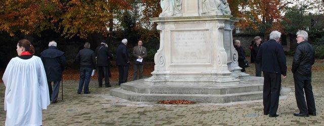 Dedication Service @Memorial Gardens