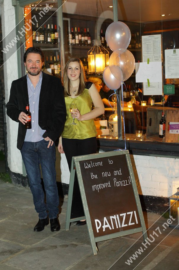Panizzi Re-Launch Party Night