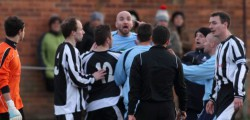 Humber Premier League Champions Beverley Town suffered their second set back in two weeks as they were dumped out of the cup by Sculcoates Amateurs.