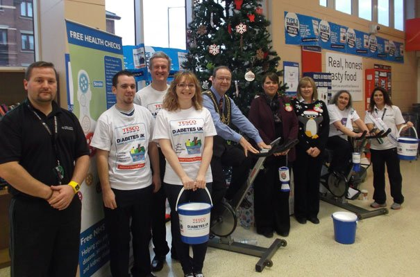 Tesco Beverley's Cycle To Lapland Raises Over £500 For Diabetes UK