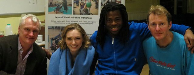 Go Kids Go : Ade Adepitan Inspires Young Wheel Chair Users